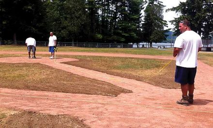 Inlet's Youth Commission does  a little sprucing up after season