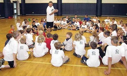 84 go to first basketball camp