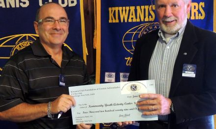 Kiwanis help youth and activity center