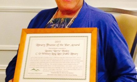 Hosley is library Trustee of the Year