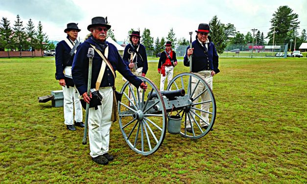 Blast from the past: History comes alive with fair, re-enactments