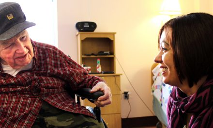 Mercy Living Center is a home for veterans
