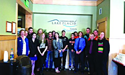 Business students participate in summit