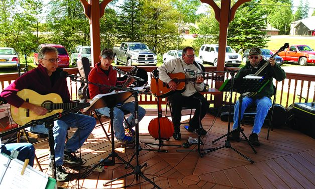 String picking at Applefest