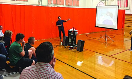 Indian Lake students learn about effects of distracted drivers