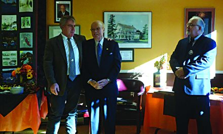 County residents thank Farley for his service
