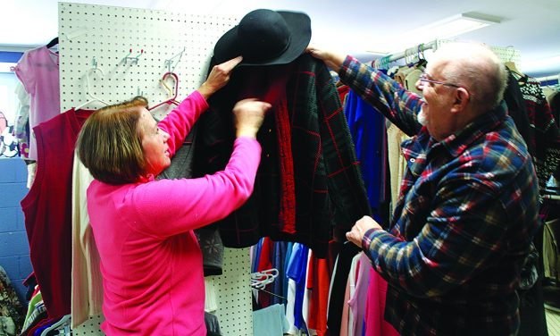Church collects donations for clothing closet