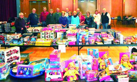 Kiwanis Club Christmas for Kids a success