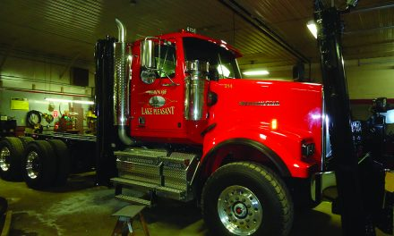 Lake Pleasant replaces truck in Highway Department fleet
