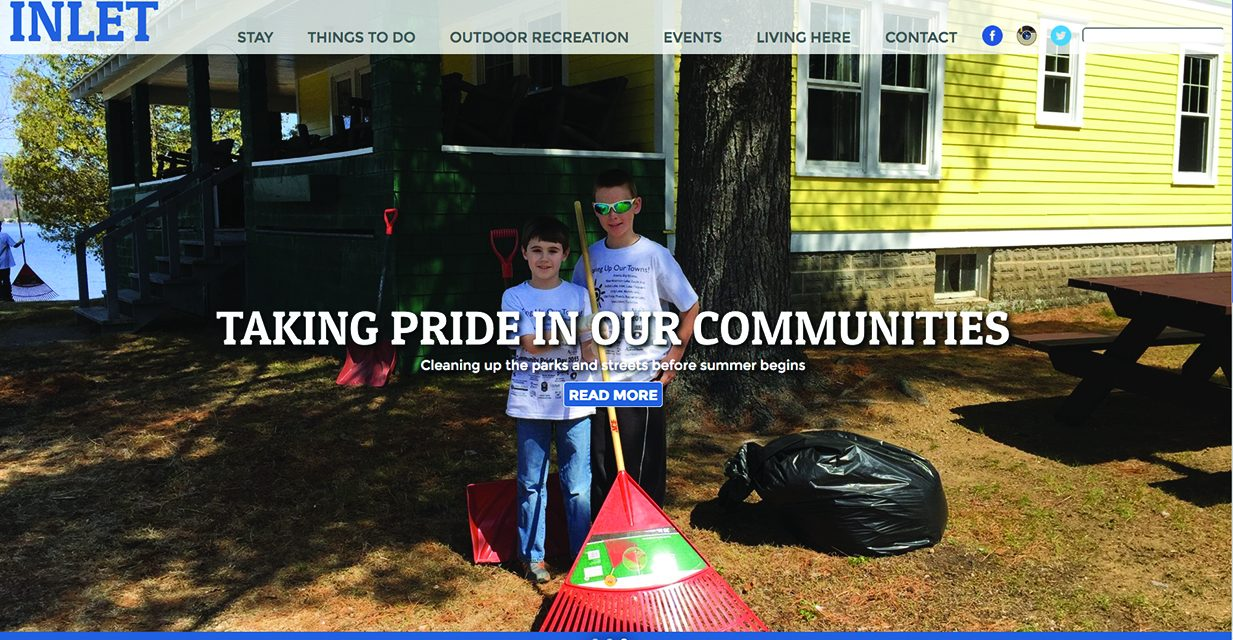 Inlet has a revamped website for community information