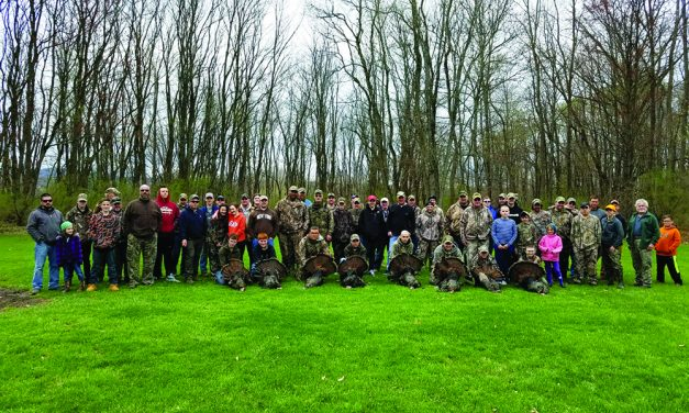 Annual youth turkey hunt was a rousing success