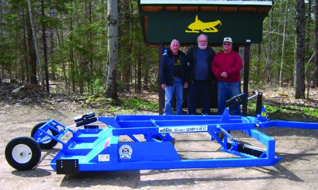 Barnstormers get new trail equipment