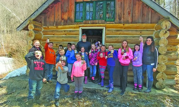 Wells students, business participate in the state Maple Syrup Contest