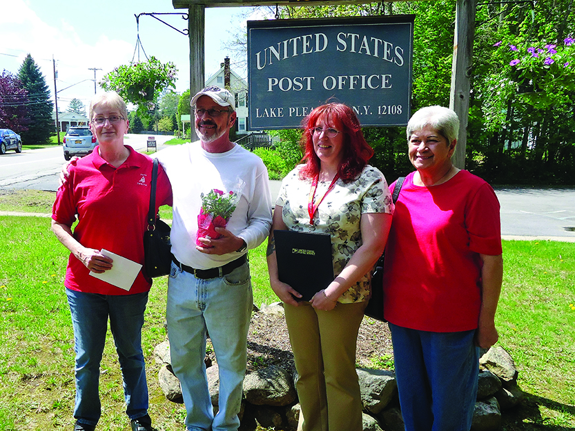 Delivering more than mail Lake Pleasant post office employee helps ailing customer