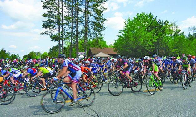 810 bicyclists took park in the annual Black Fly Challenge
