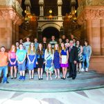 Tedisco honors LPCS KidWind at the state capitol