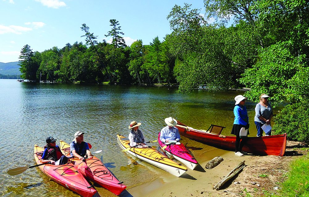 Flotilla picks up steam with a tour through local history