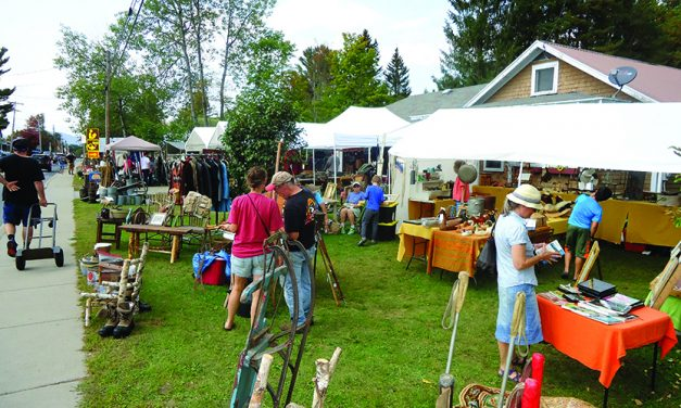 Good weather welcomes antique show to Indian Lake