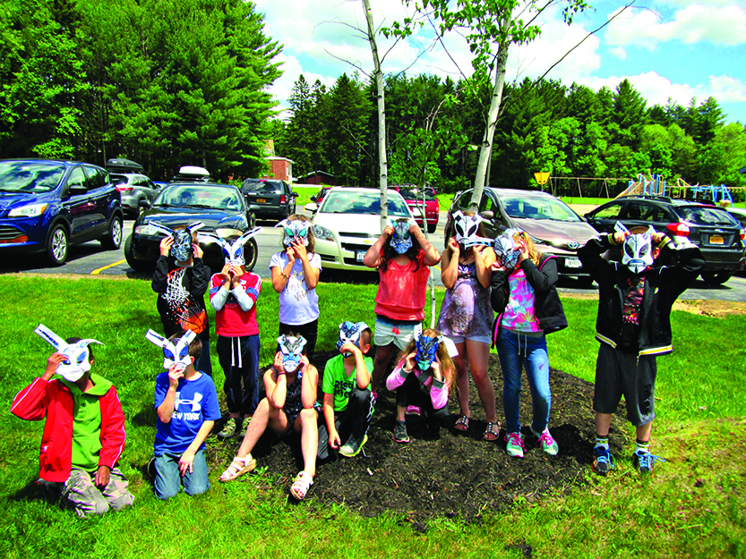 LPCS students learn about invasive bugs, create masks